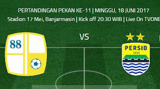 Pelatih Barito Putera Sanjung Skuat Persib Bandung