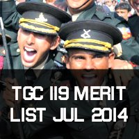 TGC 119 and AEC Merit List Jul 2014
