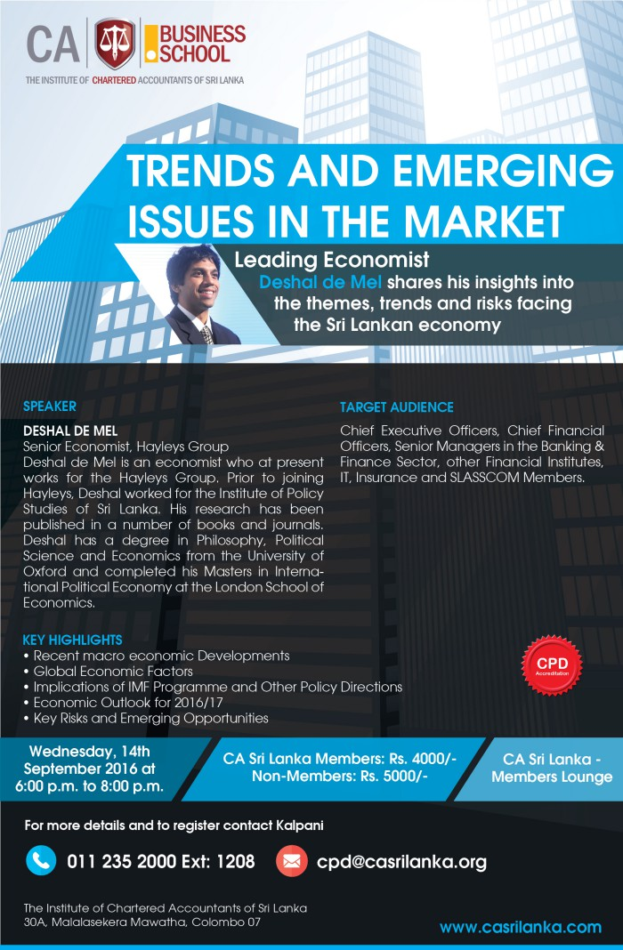 emerging issues in economics finance and