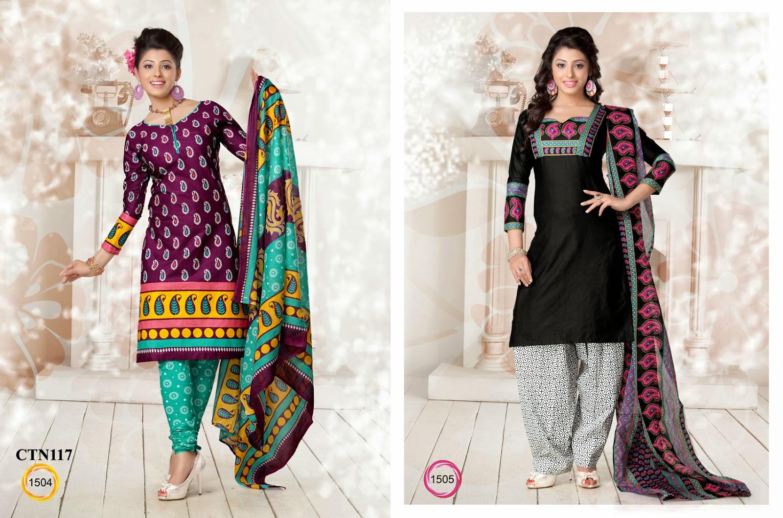 Buy cotton dress material online