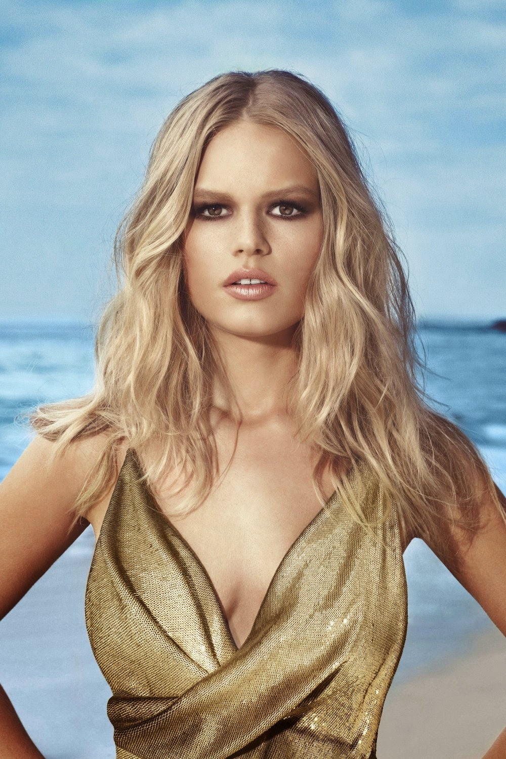 Anna Ewers By Karl Lagerfeld For: Anna Ewers By Norma Jean Roy For