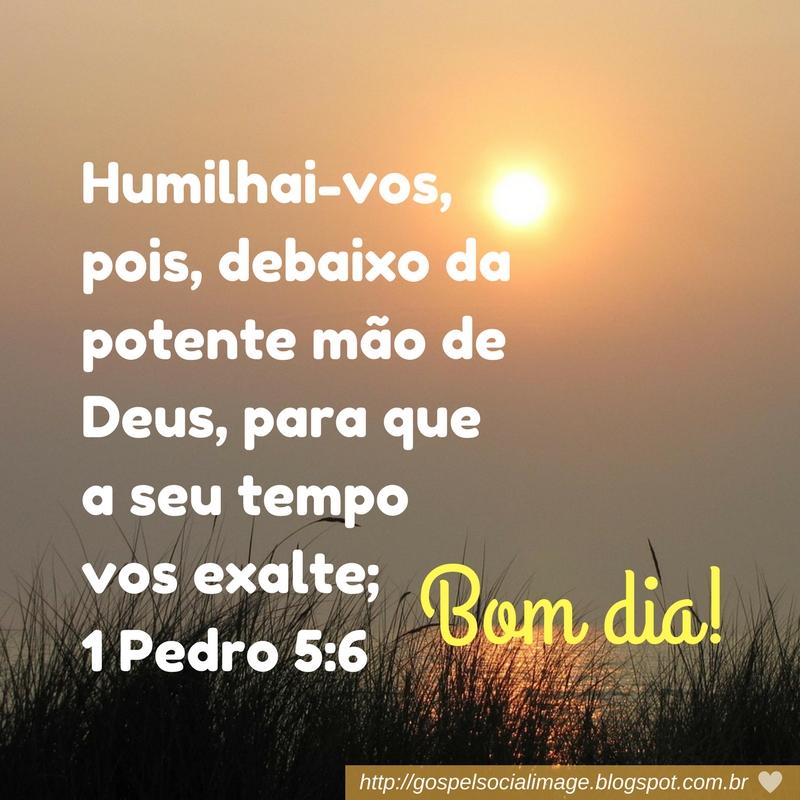 Imagem com versículo bíblico de bom dia