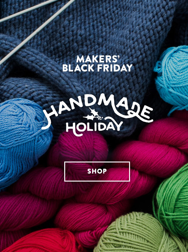 It's the biggest Craftsy Savings Event of the year! MAKERS' BLACK FRIDAY!!