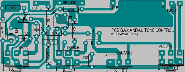 Tone Control stereo Baxandal