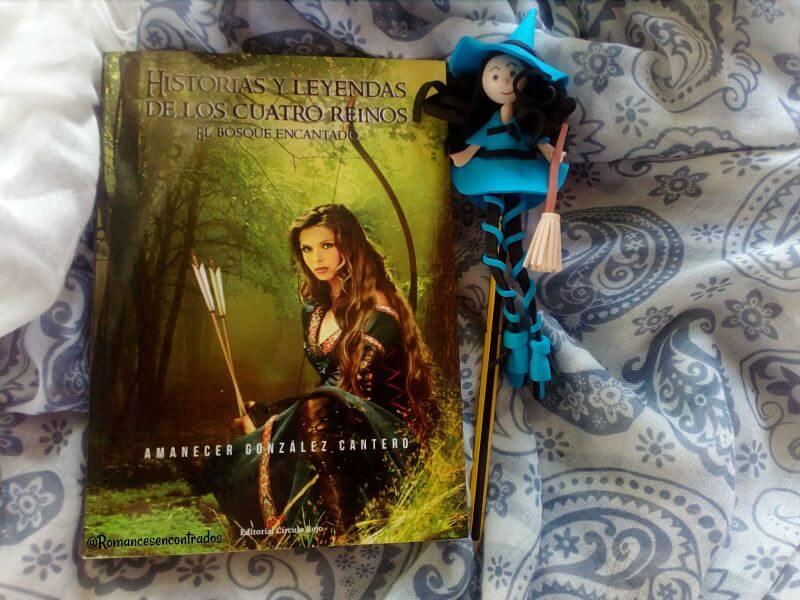 Reseña del libro El bosque encantado de Amanecer Gonzalez
