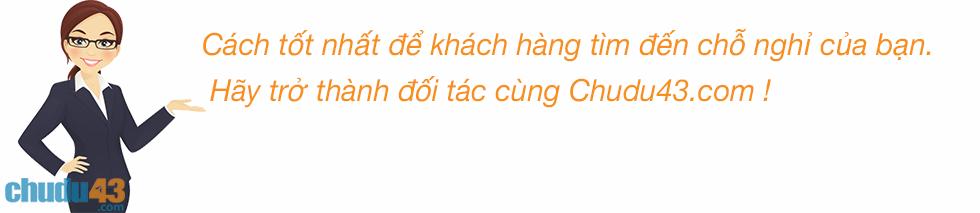 chudu43.com, Doi tac ban phong khach san