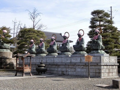善光寺の六地蔵