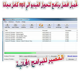 FLV to MP3 Converter