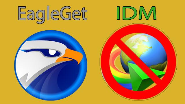 قل وداعا لأنترنت داونلود مانجر مع برنامج EagleGet