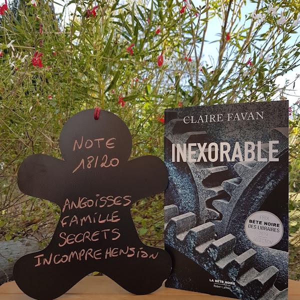 Inexorable de Claire Favan