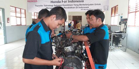 Usaha Honda Mengasah Mutiara yang Terpendam