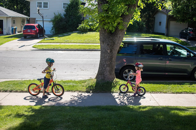 A look at how we approach learning to ride a bike as a Montessori family