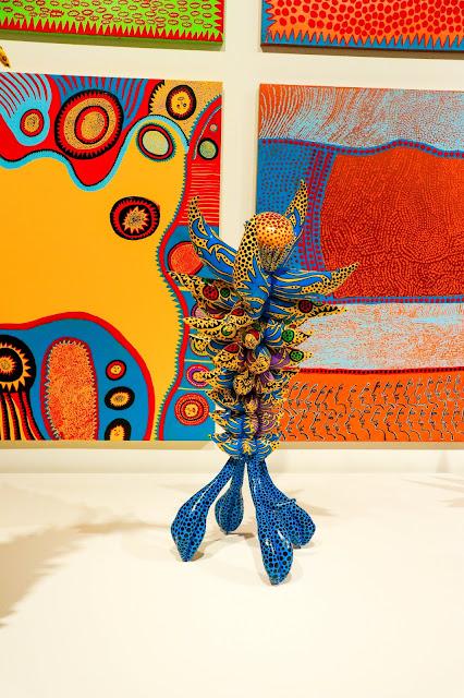 Yayoi Kusama Infinity Mirrors Photos Toronto Exhibit Scupture