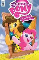 MLP Friends Forever Comic #34 by IDW Regular Cover by Tony Fleecs
