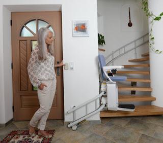 controle fauteuil monte escalier
