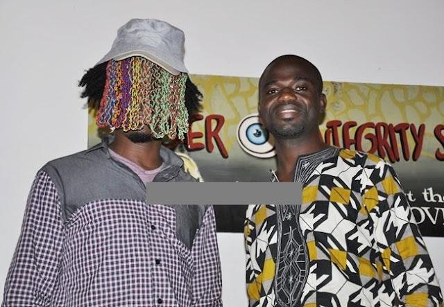 Anas Aremeyaw Anas, Manasseh Azure and Anyenini storm Bolgatanga