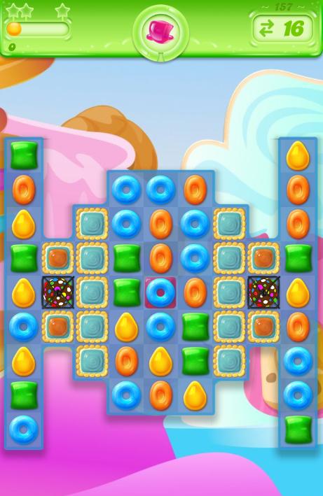 Candy Crush Jelly Saga 157