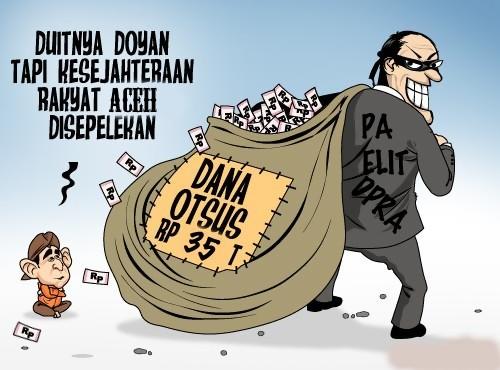 28 Paket Proyek Otsus Aceh Belum Tanda-Tangan Kontrak