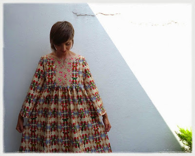 Stylish Dress Book Y - July butterfly smock