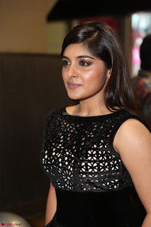 Niveda Thomas Black Sleeveless Cute Dress at 64th Jio Filmfare Awards South 2017 ~  Exclusive 080.JPG