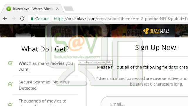 Buzzplayz.com Pop-ups