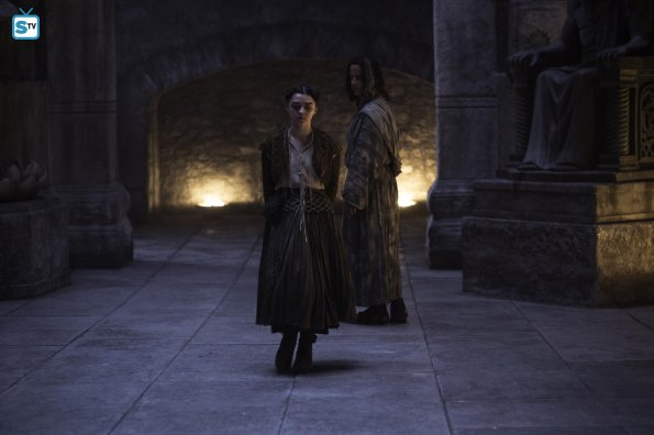 Game of Thrones 5x09 - Arya y Jaqen