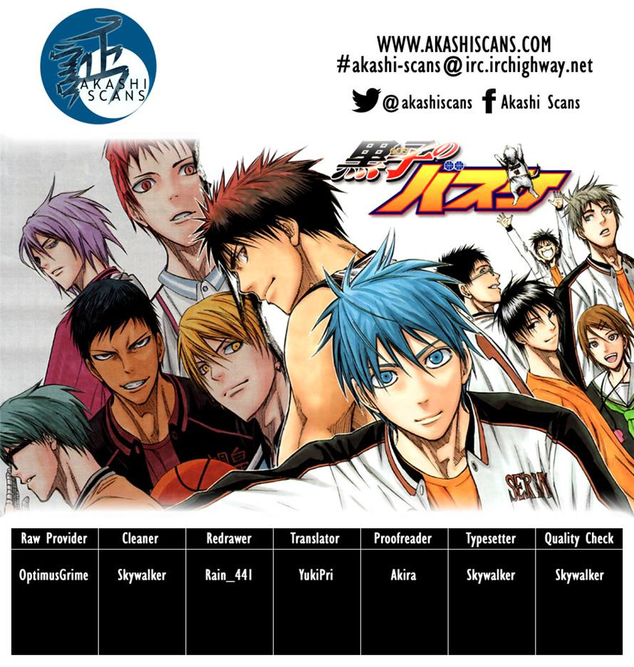 Kuroko No Basket chap 225 trang 22