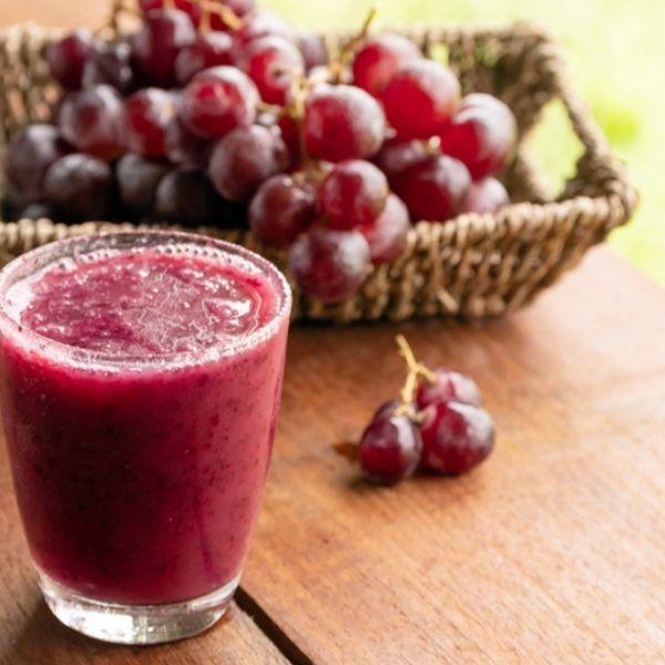 Jus buah bit mix sawi anggur untuk tambah darah