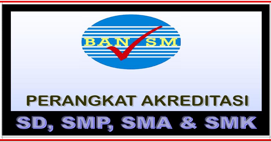 Perangkat Lengkap Akkreditasi Sd Smp Mts Sma Smk Sd