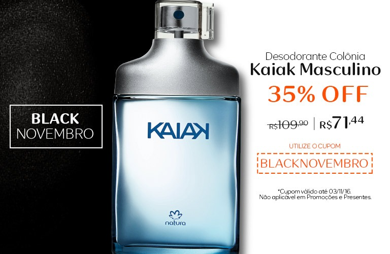 Desodorante Colonia Kaiak Masculino com 35% OFF!