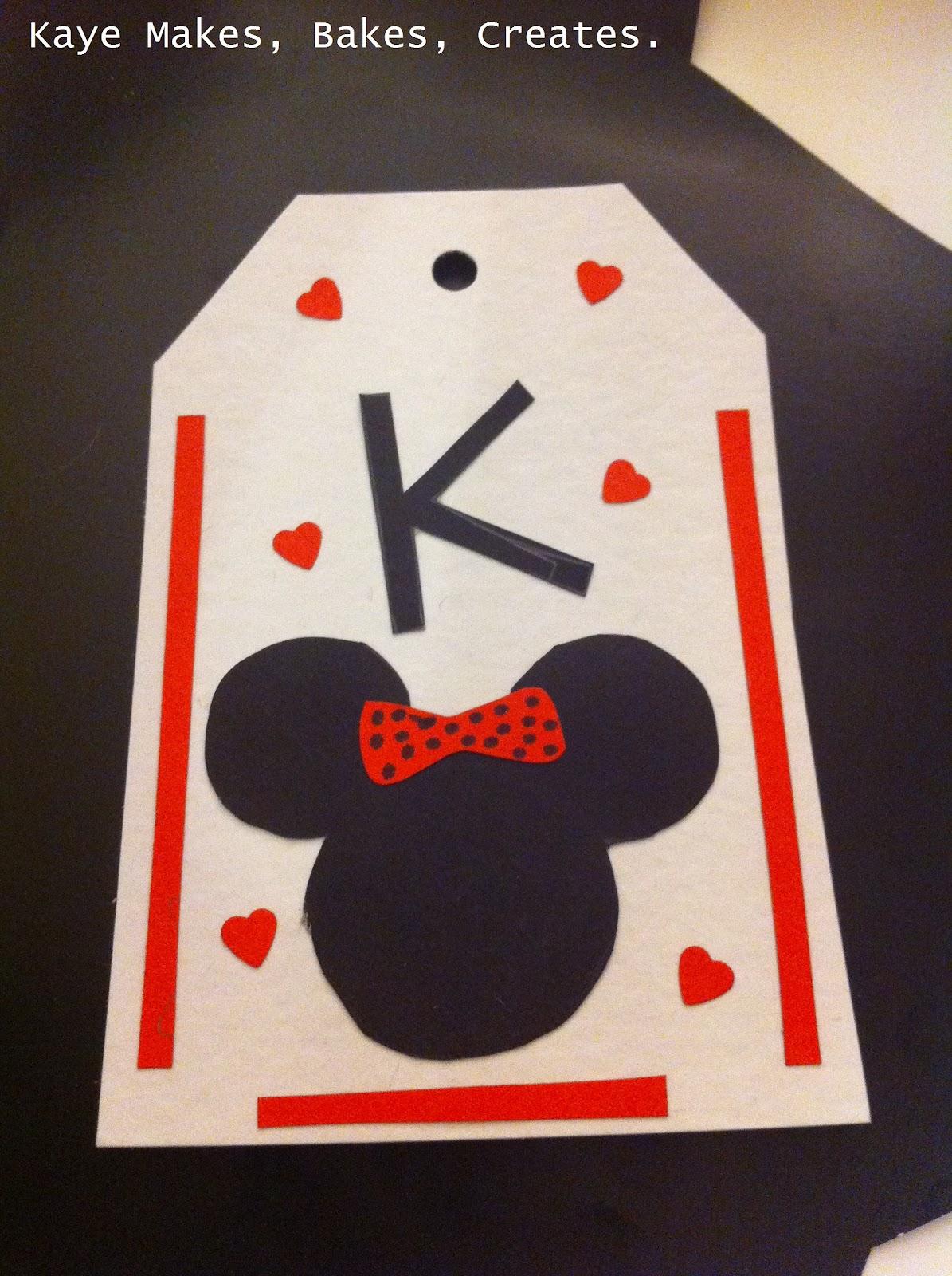 Kaye Makes Bakes Creates Diy Disney Luggage Tags
