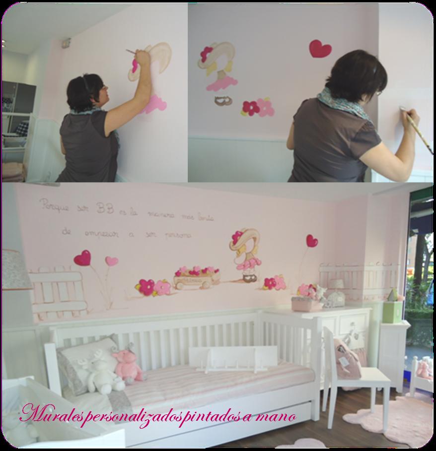 Bb the countrybaby blog decorar con murales - Murales para habitacion ...