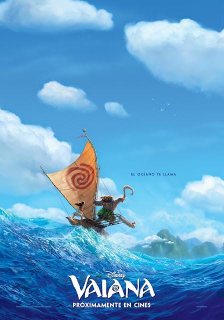Teaser póster de 'Vaiana', lo nuevo de Disney