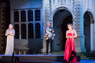 SWAP'ra gala at Opera Holland Park - Richar Strauss: Der Rosenkavalier - Janis Kelly, Diana Montague, Sophie Bevan - (Photo Robert Workman)