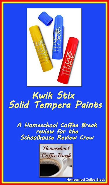 Kwik Stix Solid Tempera Paints (A Schoolhouse Crew Review) on Homeschool Coffee Break @ kympossibleblog.blogspot.com