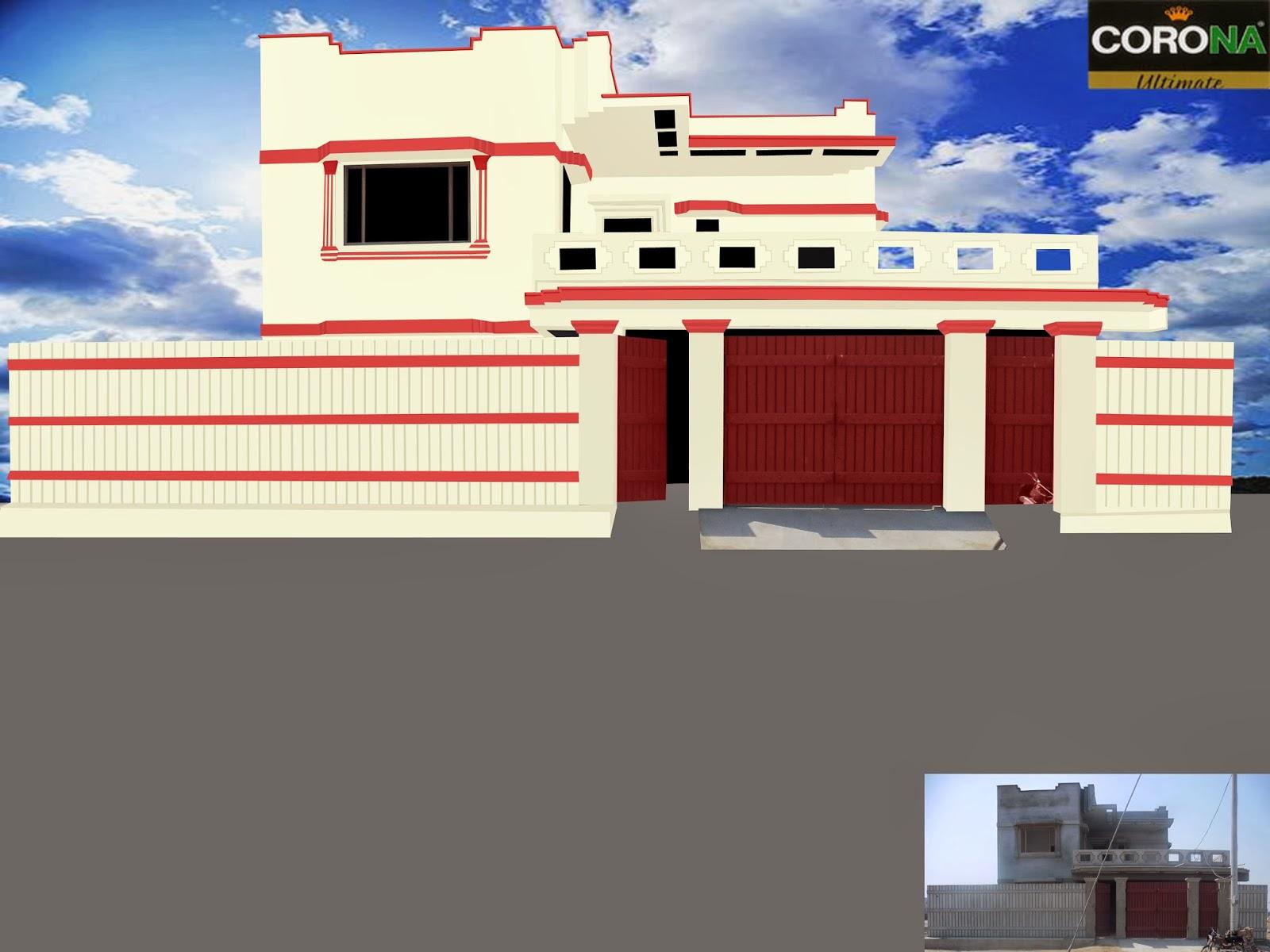 Paints Of Ideas Beautiful House Color Combination By Corna Paints