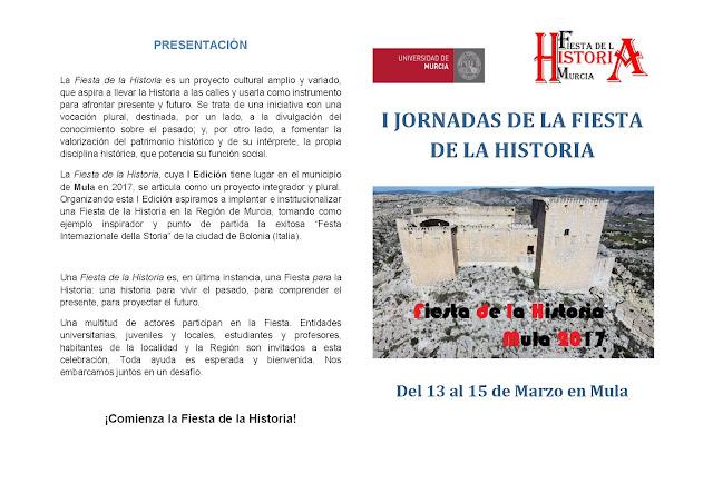 I Jornadas de la Fiesta de la Historia