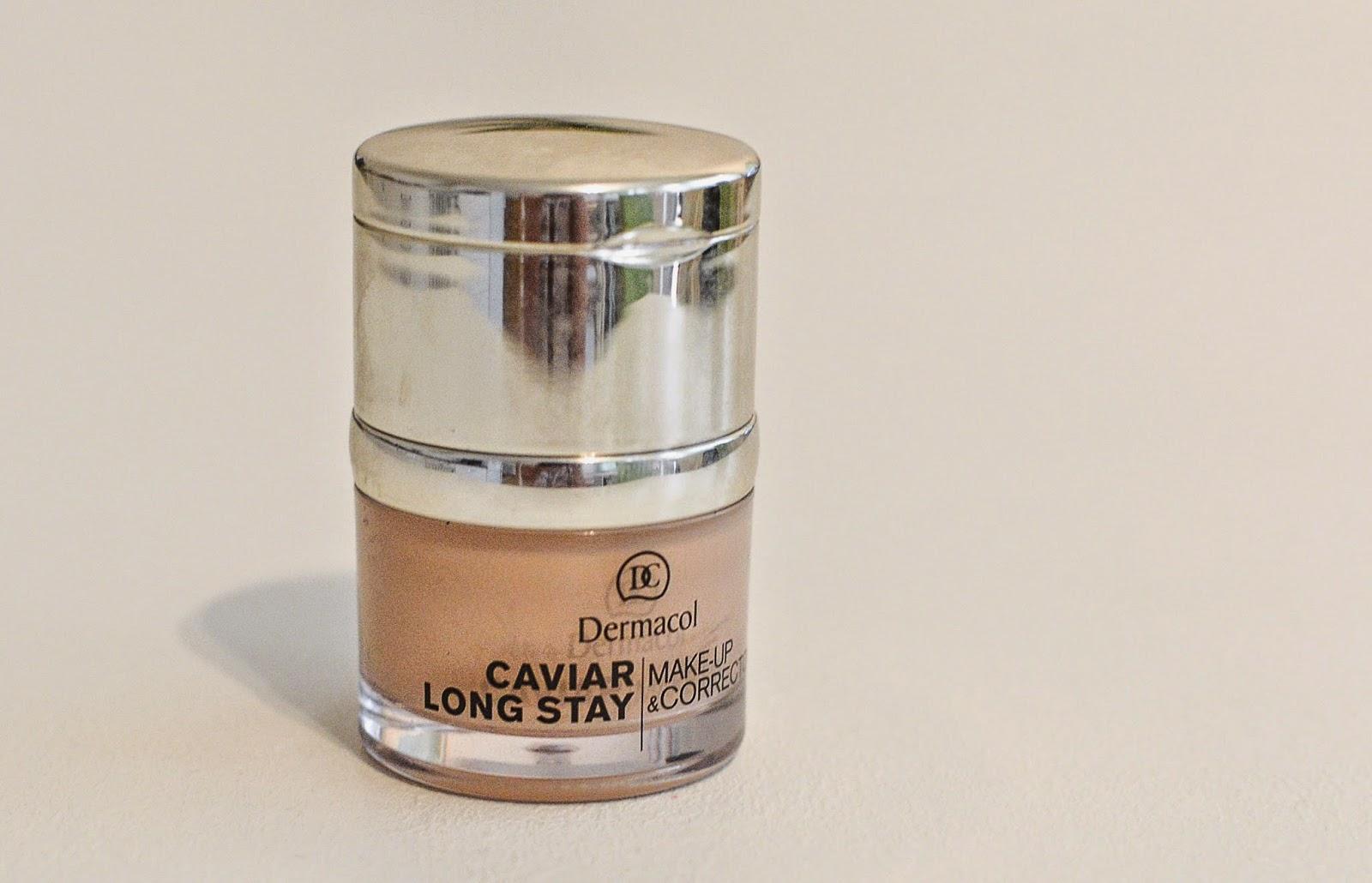 dermacol, makeup, korektor, caviar long