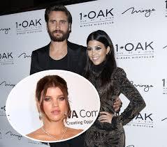Kardashian Sofia Richie Scott Disick