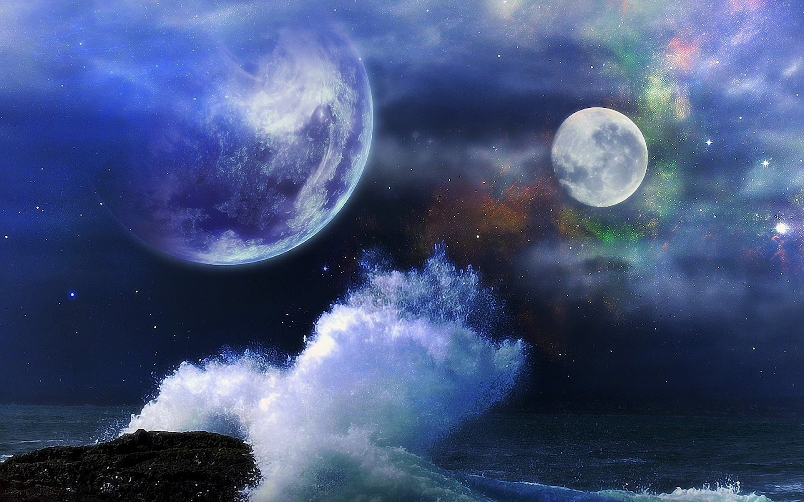 Free High Definition Wallpapers: Free High-Definition Wallpapers: Free Space Galaxy Desktop