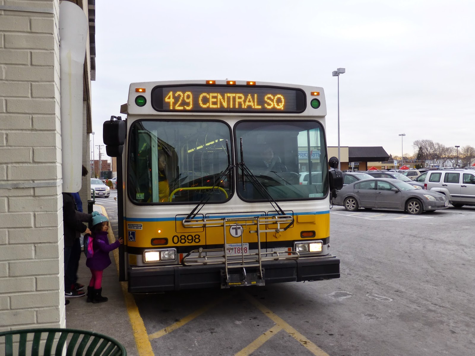 miles on the mbta: 429 (northgate shopping center - central square