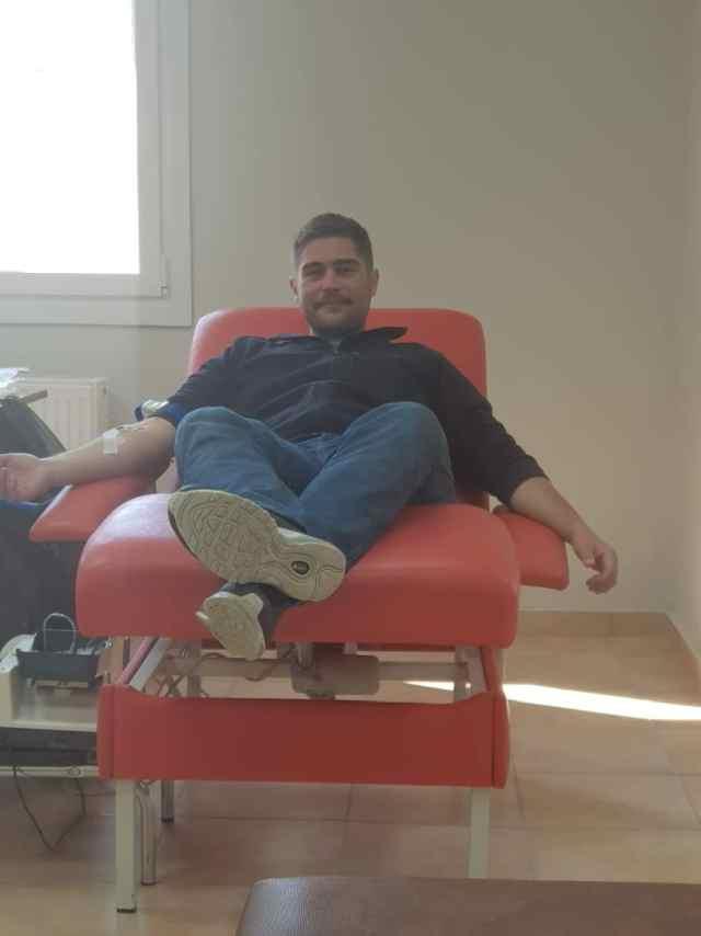 Εθελοντική αιμοδοσία της ΝΟ.Δ.Ε. και της ΟΝΝΕΔ ΝΕΑΣ ΔΗΜΟΚΡΑΤΙΑΣ ΠΙΕΡΙΑΣ