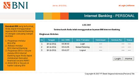 Mengapa Saya Tidak Bisa Cek Mutasi Rekening di Internet Banking BNI?