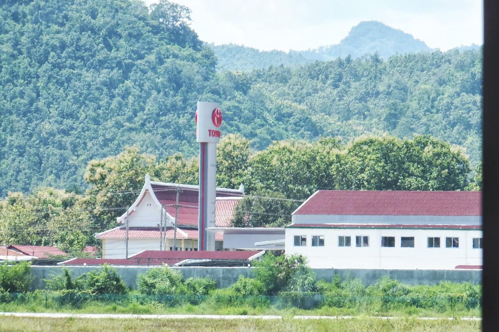 LuangPrabang-Toyota ルアンパバーンのトヨタ