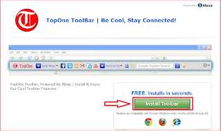 TopOne toolbar download