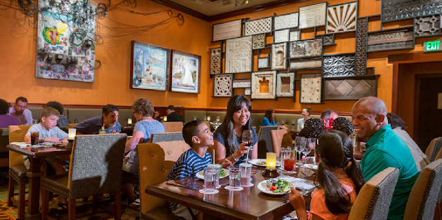 Restaurante Tiffins no Animal Kingdom em Orlando