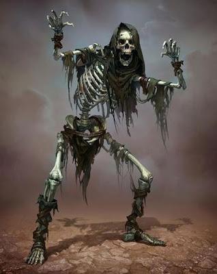 Esqueleto no muerto