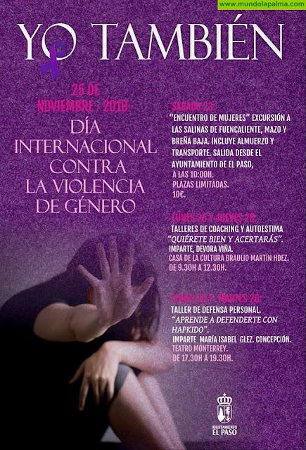 """""""Yo También"""" - Día Internacional Contra La Violencia de Género en El Paso"""