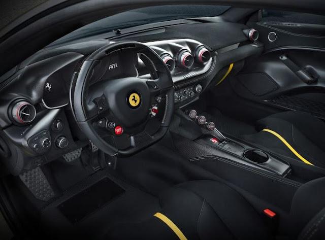 2017 Ferrari F12 tdf  Interior