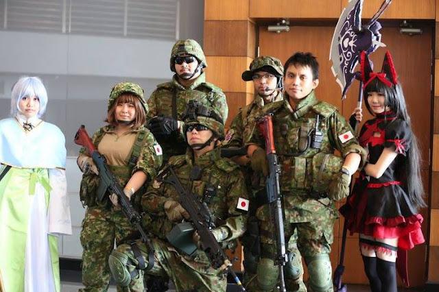 Pemuda Jepang Enggan Bergabung dengan Angkatan Bersenjata Lantaran Lebih Memilih Kuliah